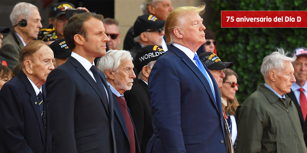 'EE. UU. nunca es más grande que cuando pelea por la libertad de otros': Macron