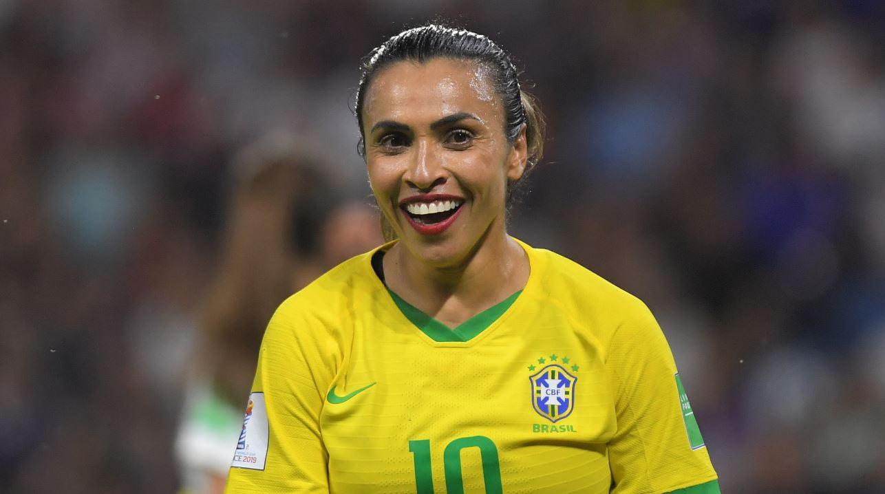 (Video) El emotivo discurso de Marta Vieira sobre el futuro del fútbol femenino