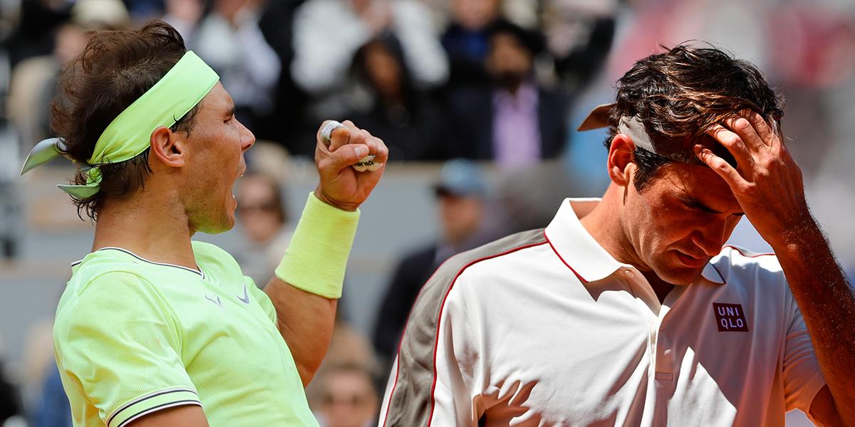 Nadal elimina a Federer y jugará su duodécima final en Roland Garros