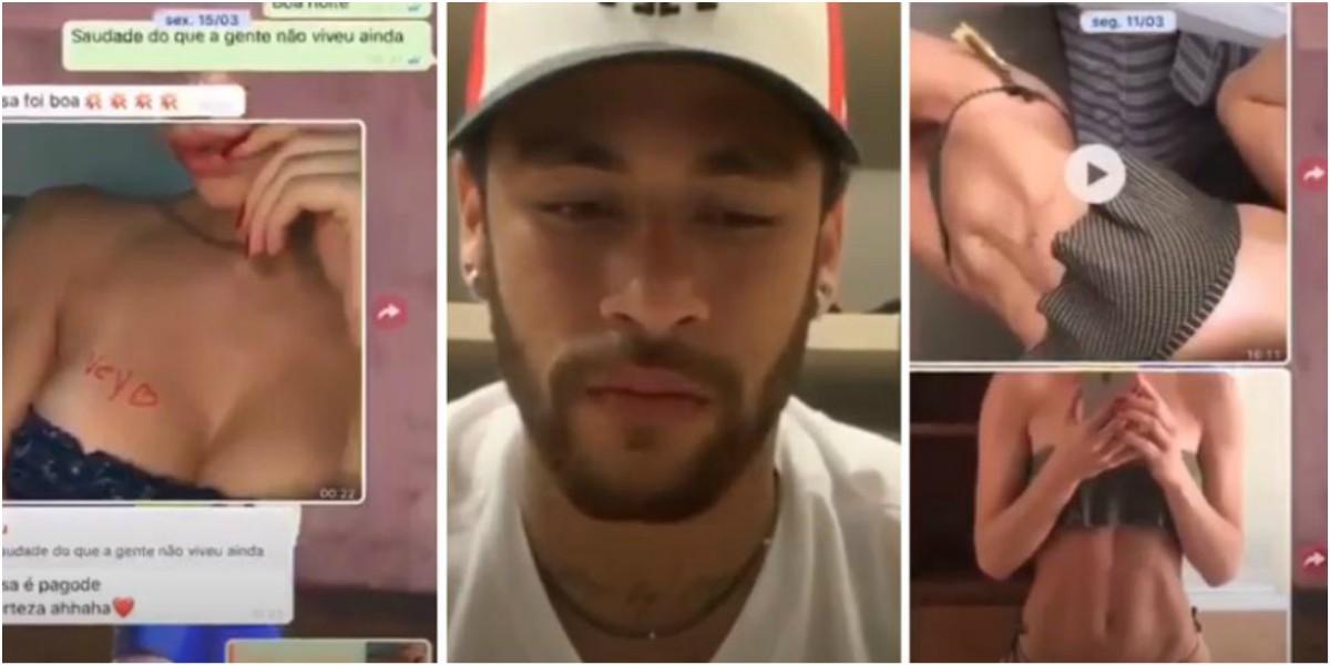 neymar fotos chats whatsapp mujer que lo acusó de violacion