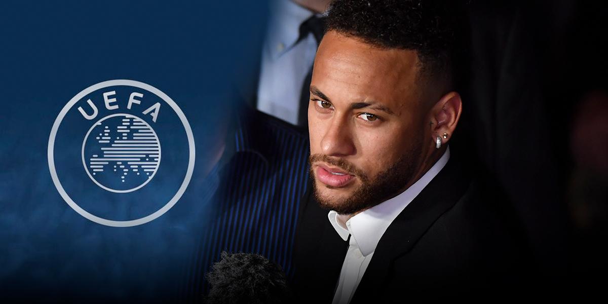 Comité de Apelación de UEFA, reafirma sanción de tres partidos a Neymar