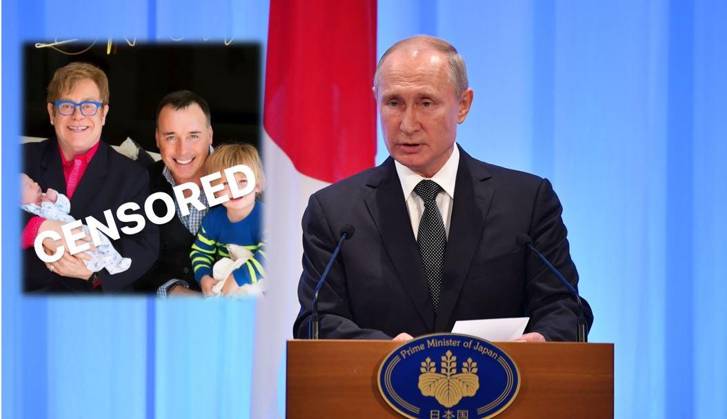 Putin le respondió a Elton John por supuesta discriminación a comunidad LGBTI en Rusia