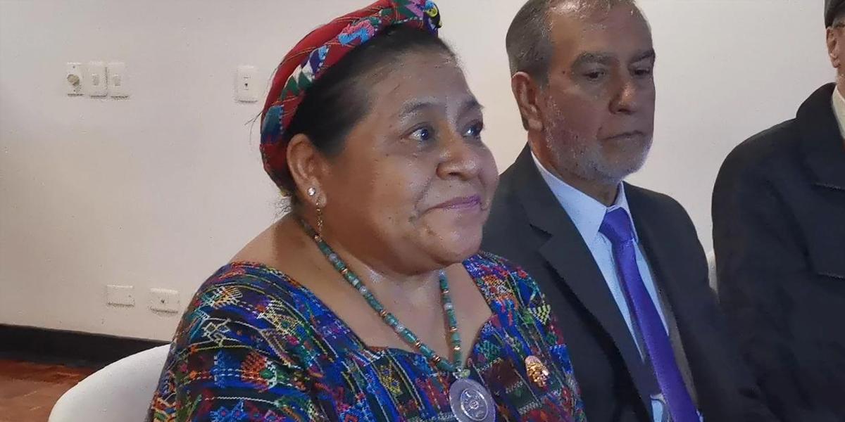 Rigoberta Menchú: la paz, una construcción colectiva en la que debemos creer