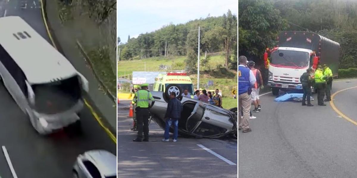 Fallecen 64 personas en accidentes de tránsito este puente festivo