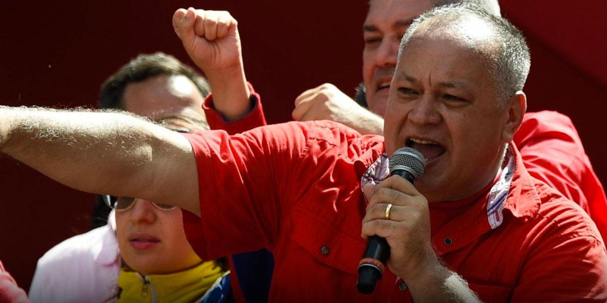Diosdado Cabello culpa a dos diputados por supuesto plan para matar a dirigente chavista