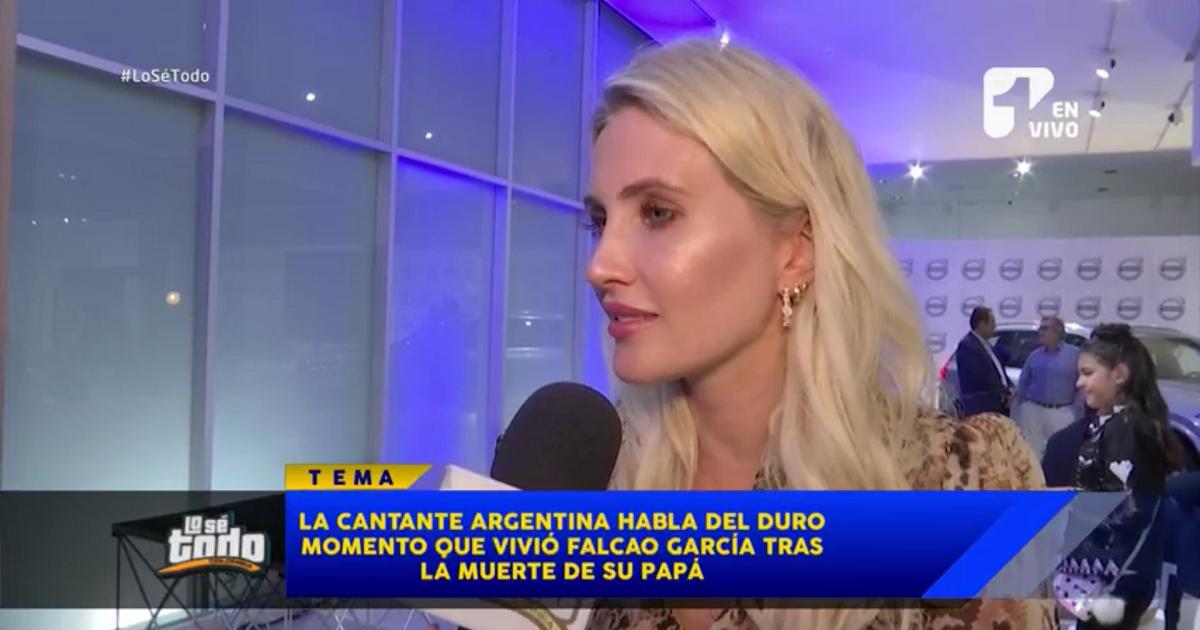 Con nudo en la garganta, esposa de Falcao habla de la muerte de su suegro