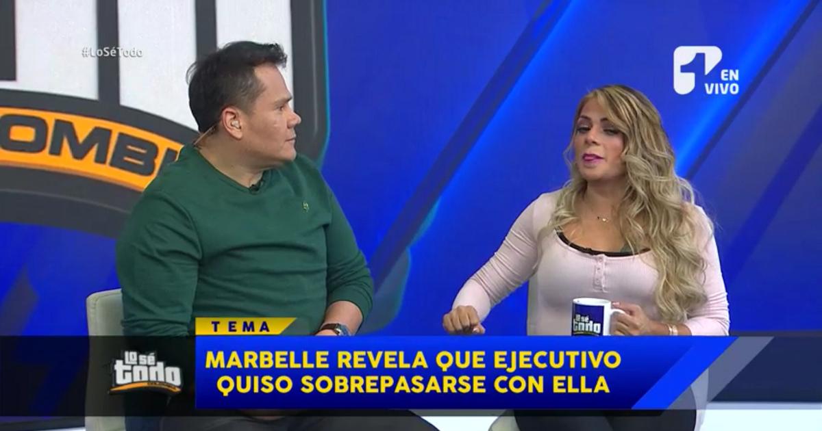 Marbelle revela que alto ejecutivo intentó abusar sexualmente de ella cuando tenía 16