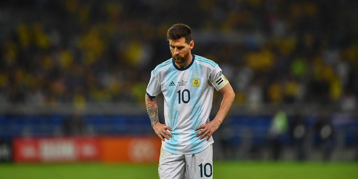 Messi y la eterna decepción con la albiceleste