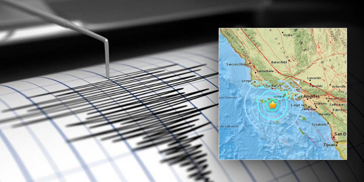 Sismo de magnitud 6,6 sacude el sur de California