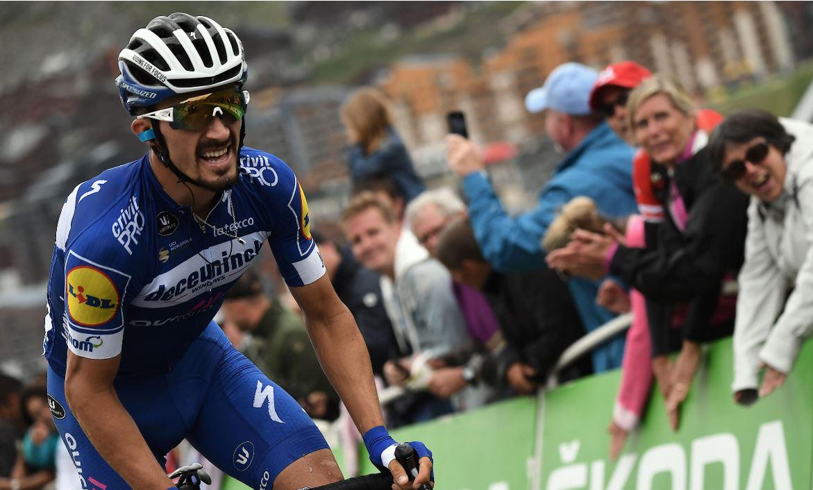 Julian Alaphilippe superó a Egan Bernal y se llevó la Bicicleta de Oro 2019