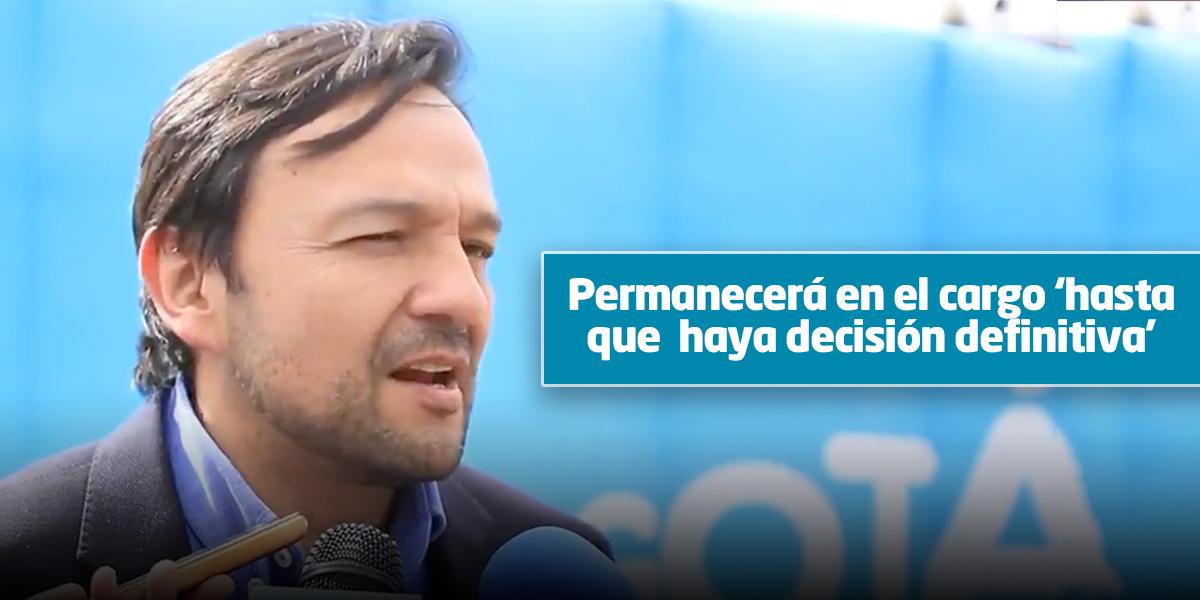 Bocarejo apelará sanción de Procuraduría por contrato de semaforización inteligente