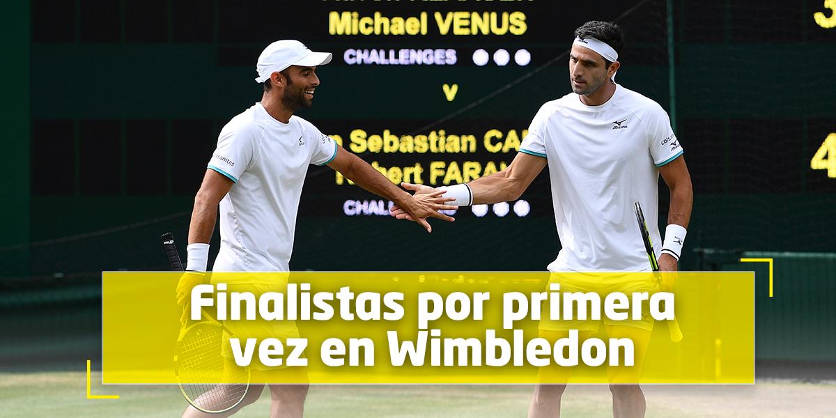 ¡Qué orgullo! Cabal y Farah, a la final en Wimbledon