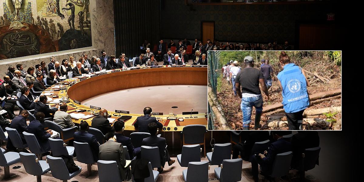 Consejo de Seguridad de la ONU llega a Colombia para revisar avances en proceso de paz