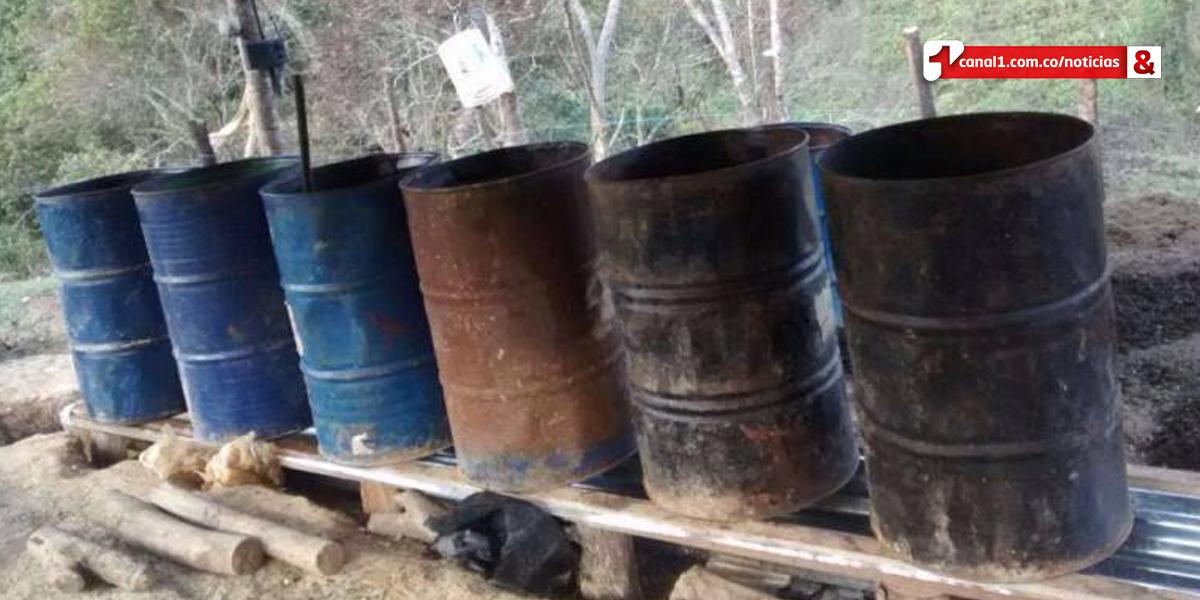 Policía destruye laboratorio de coca en Orocué, Casanare