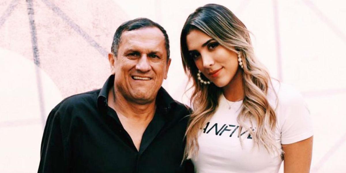 Así fue la emotiva despedida al papá de David y Daniela Ospina