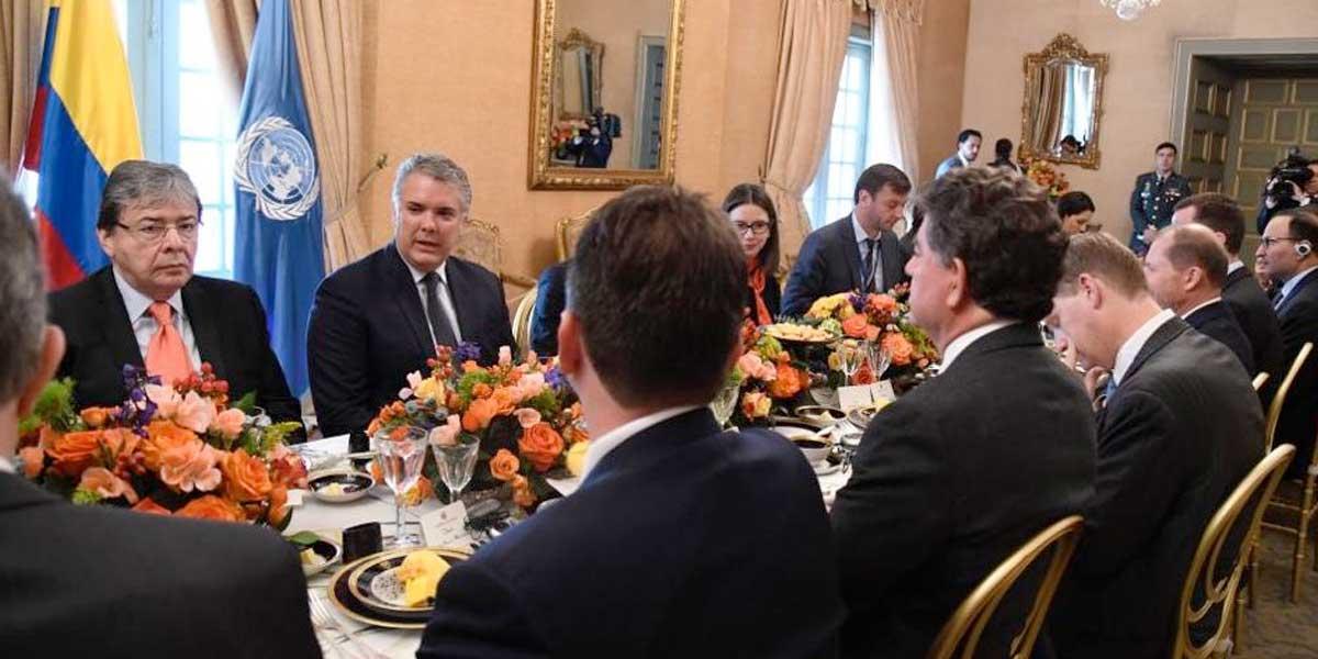 Pdte. Duque pide a ONU prorrogar un año más misión de verificación al proceso de paz