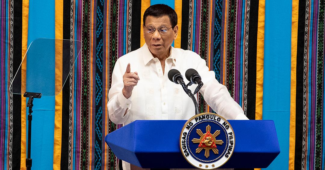 Duterte insta al Congreso a aprobar pena de muerte para delitos por narcotráfico