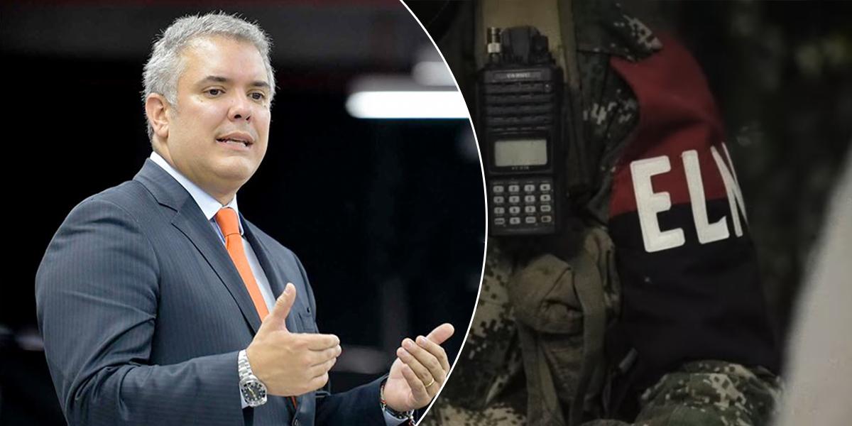 Pdte. Duque afirma que ELN recluta menores en Venezuela con anuencia de Maduro