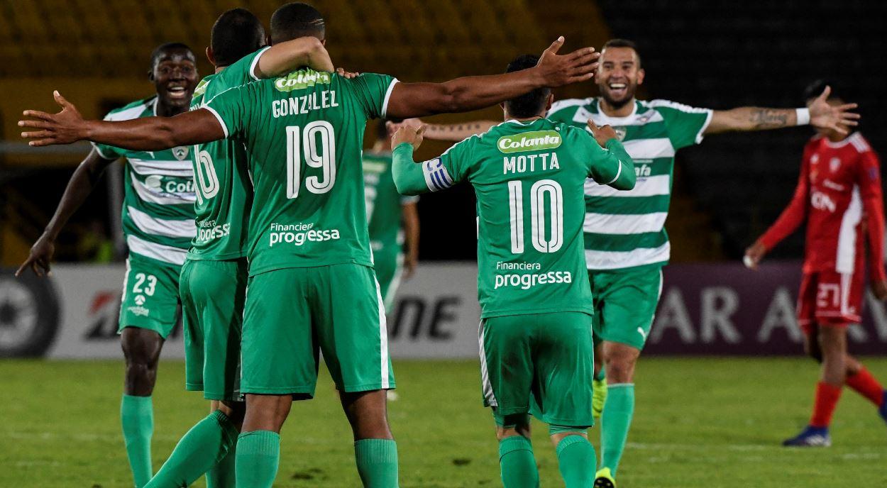 La Equidad se metió en cuartos de final de Copa Sudamericana y espera rival brasileño