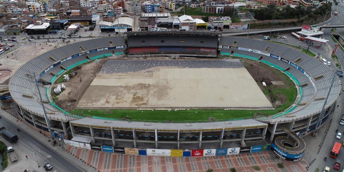 Estadio Libertad se entregaría a finales de noviembre con iluminación reglamentada por Conmebol