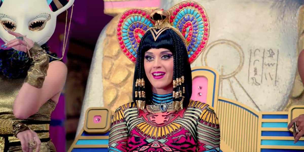 Katy Perry habría copiado canción de rap cristiano en 'Dark Horse'