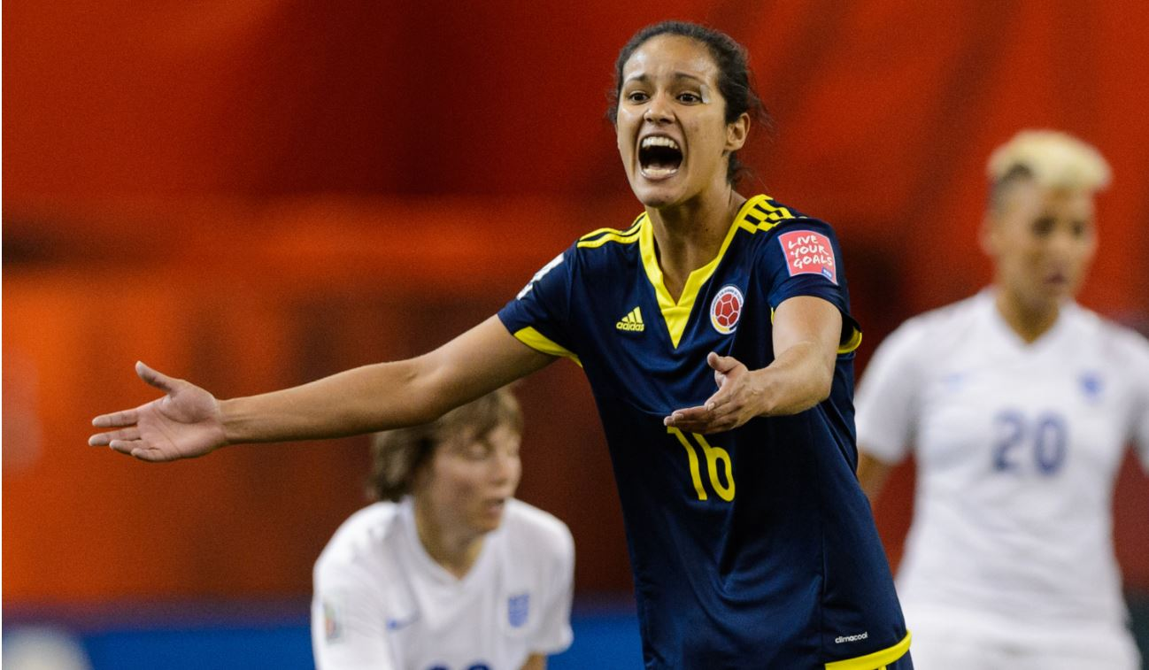 La colombiana Lady Andrade fue presentada como nueva jugadora del AC Milan Femenino