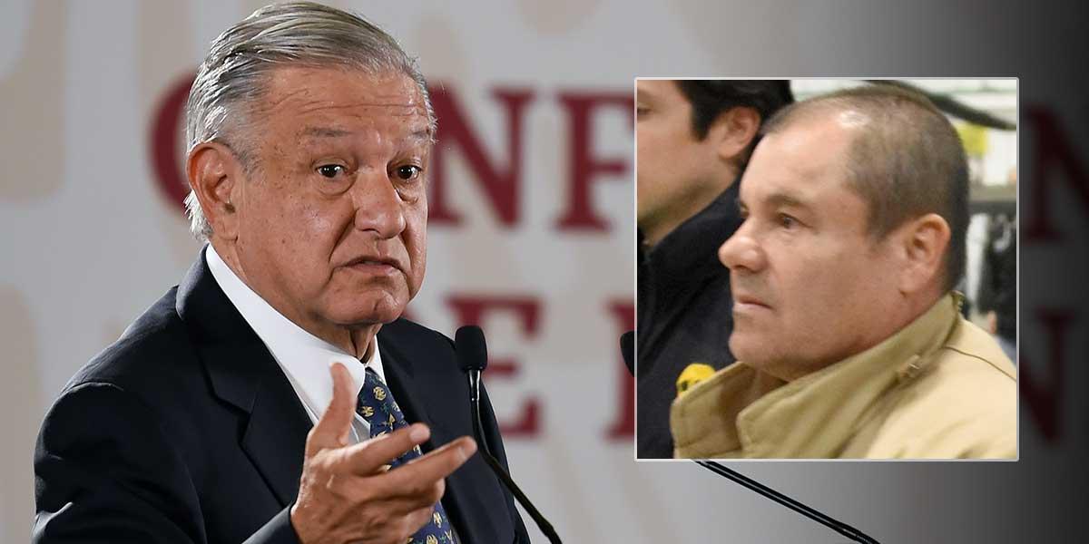 'No le deseo mal a nadie': presidente de México sobre condena al Chapo