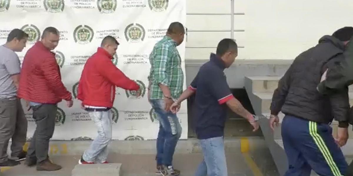 Capturan banda que exigía dinero para no incinerar vehículos en Soacha