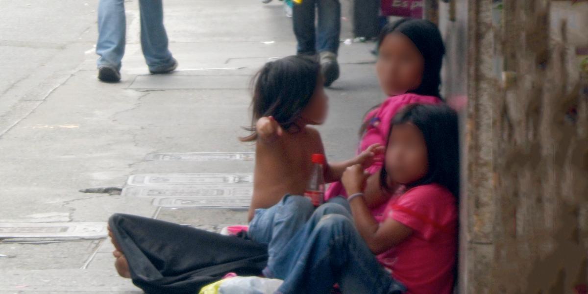 Rescatan a 28 menores venezolanos utilizados para mendigar en Bucaramanga
