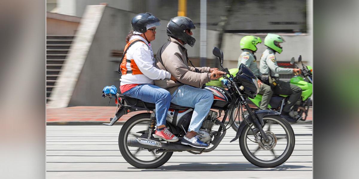 Alcalde de Cali vuelve a prohibir el parrillero en moto