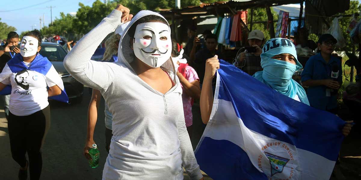 CIDH preocupada por la 'continua represión' en Nicaragua