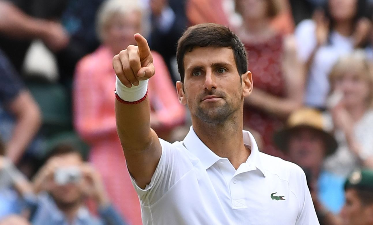 (Video) La particular celebración de Djokovic luego de ganar su quinto Wimbledon