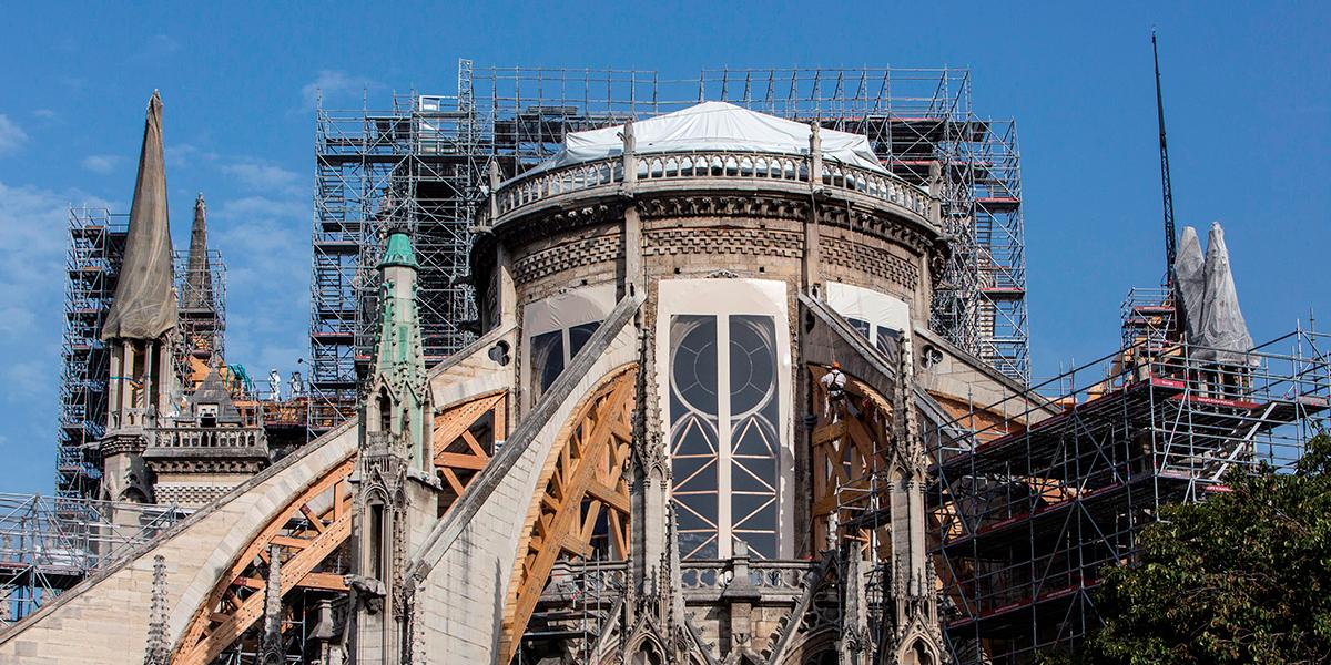 Suspendidas obras de Notre Dame por seguridad de los trabajadores