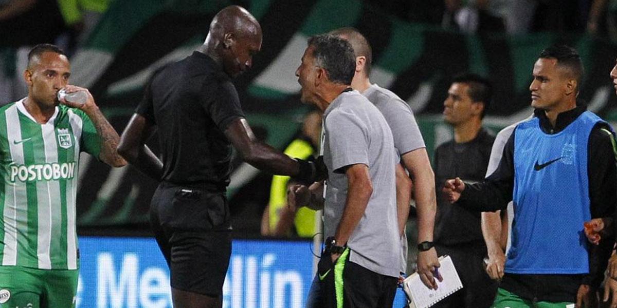 Juan Carlos Osorio es suspendido dos meses por agredir a árbitro John Hinestroza