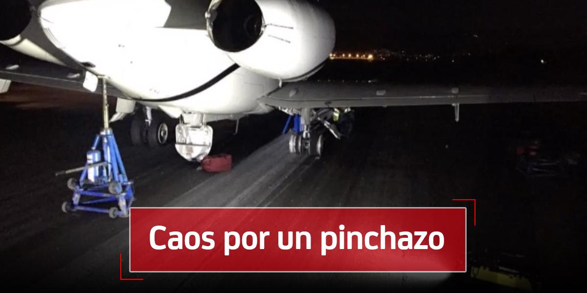 El pinchazo del vuelo chárter que retrasó cerca de 70 vuelos en El Dorado