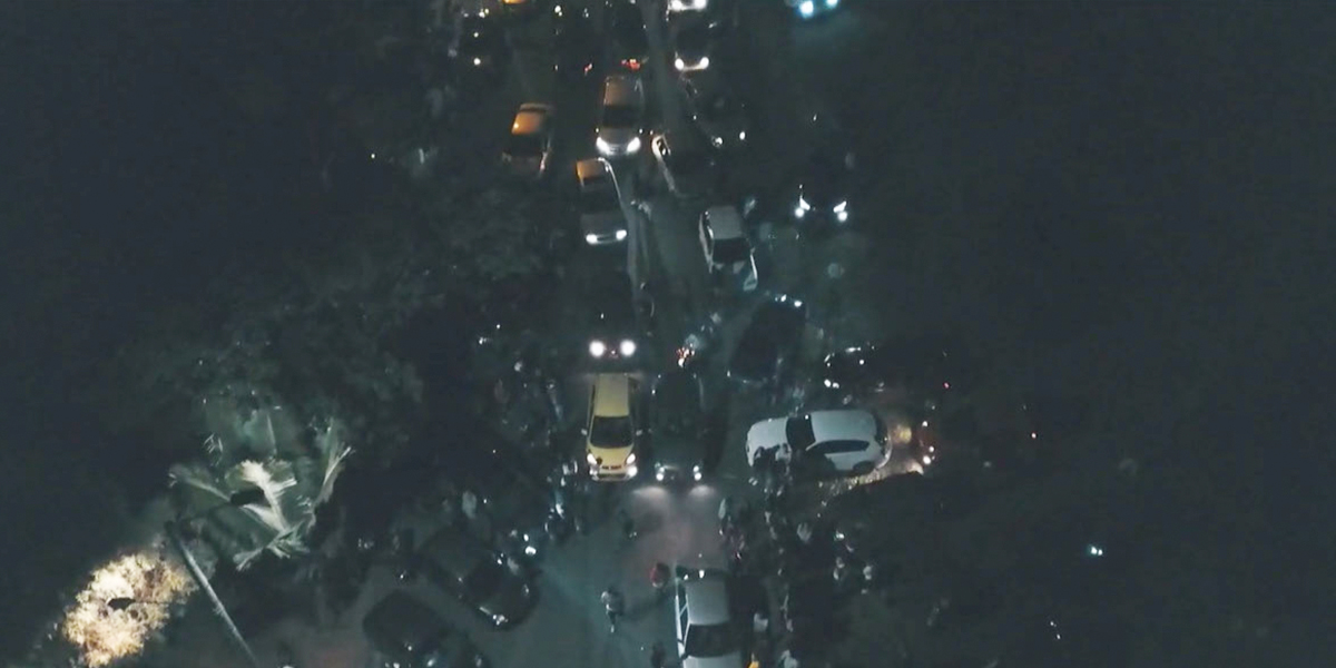 Rápidos y peligrosos: así fue la noche de 'piques' ilegales en Bogotá
