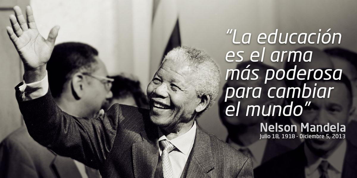 Nelson Mandela Su Vida En Fotos Y Frases Célebres