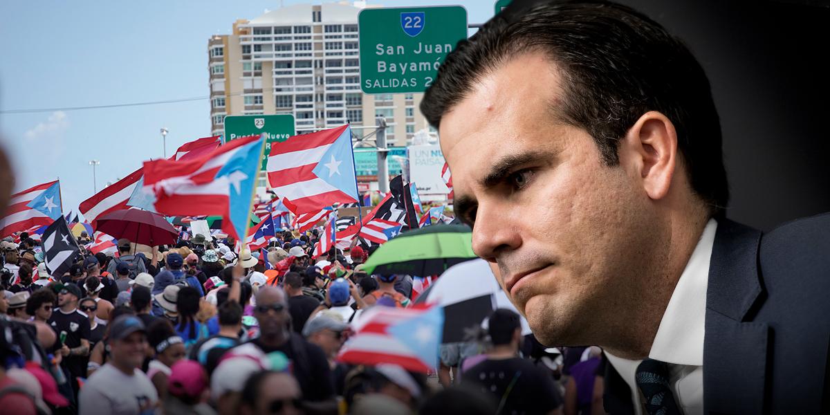 Renuncia del gobernador de Puerto Rico sería inminente tras escándalo de polémico chat