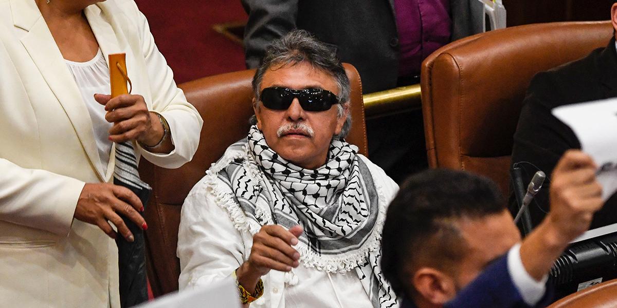 Ordenan suspensión de 'Jesús Santrich' como representante a la Cámara