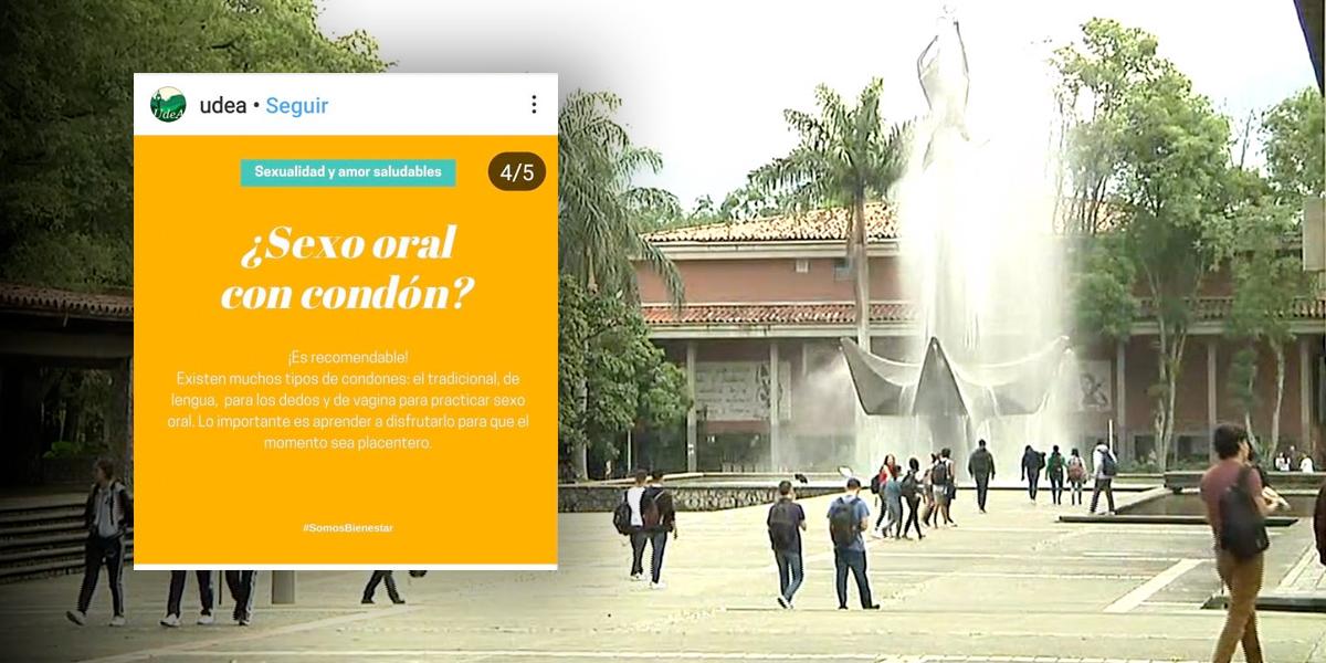 Polémica por taller que enseñará sobre sexo oral en la Universidad de Antioquia