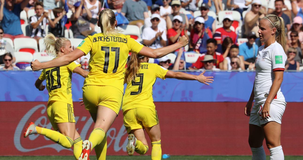 Suecia derrotó a Inglaterra y se quedó con el tercer puesto del Mundial Femenino