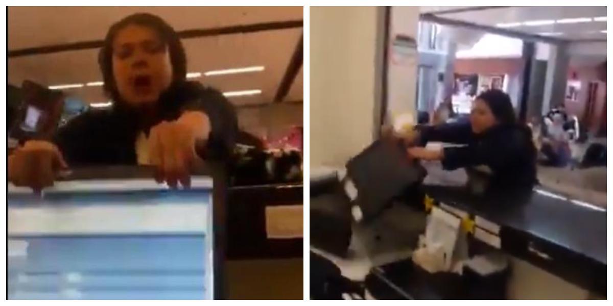 Video del reclamo con violencia e insultos de usuaria a empleado de aerolínea en Antioquia