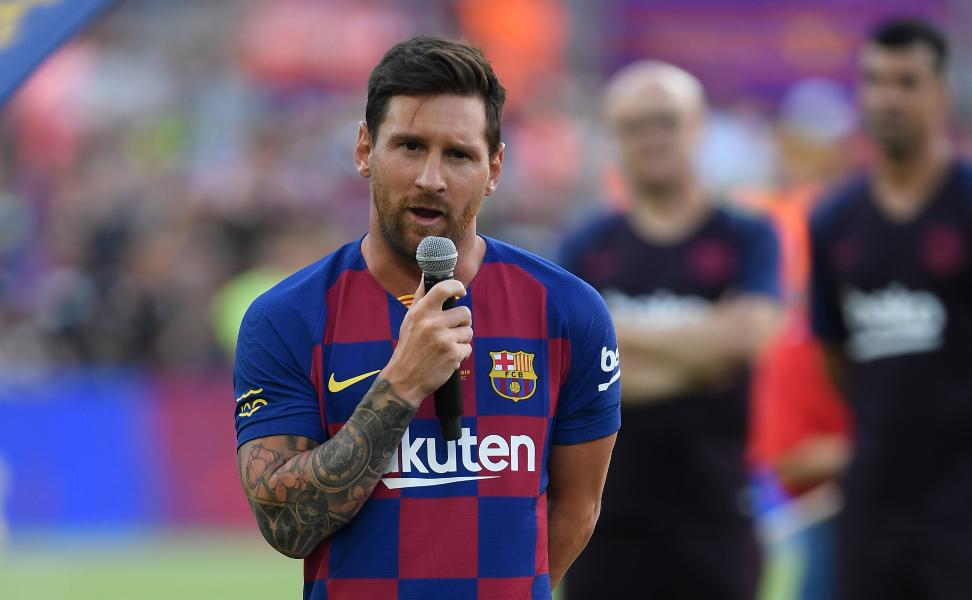 El emotivo discurso de Lio Messi que hizo estallar en aplausos al Camp Nou