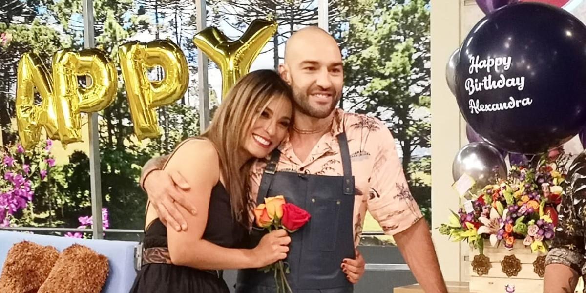 ¿Cómo surgió el amor entre Alexandra Santos y Leo Morán?