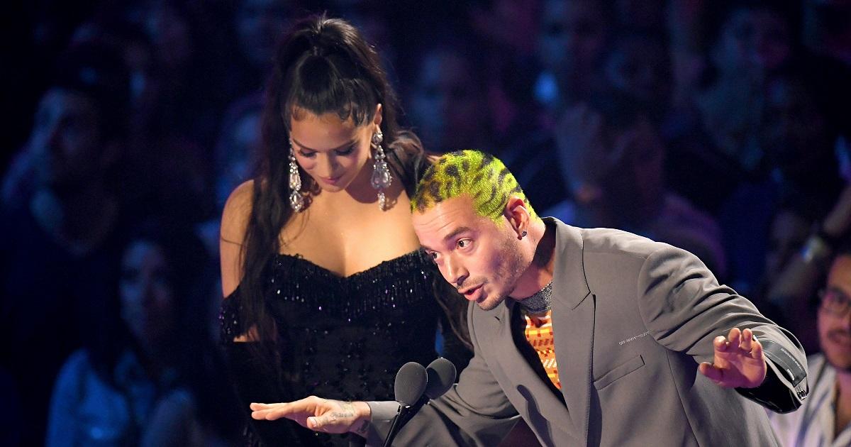 La polémica reacción de J Balvin y Rosalía al ganar el MTV Video Music Awards