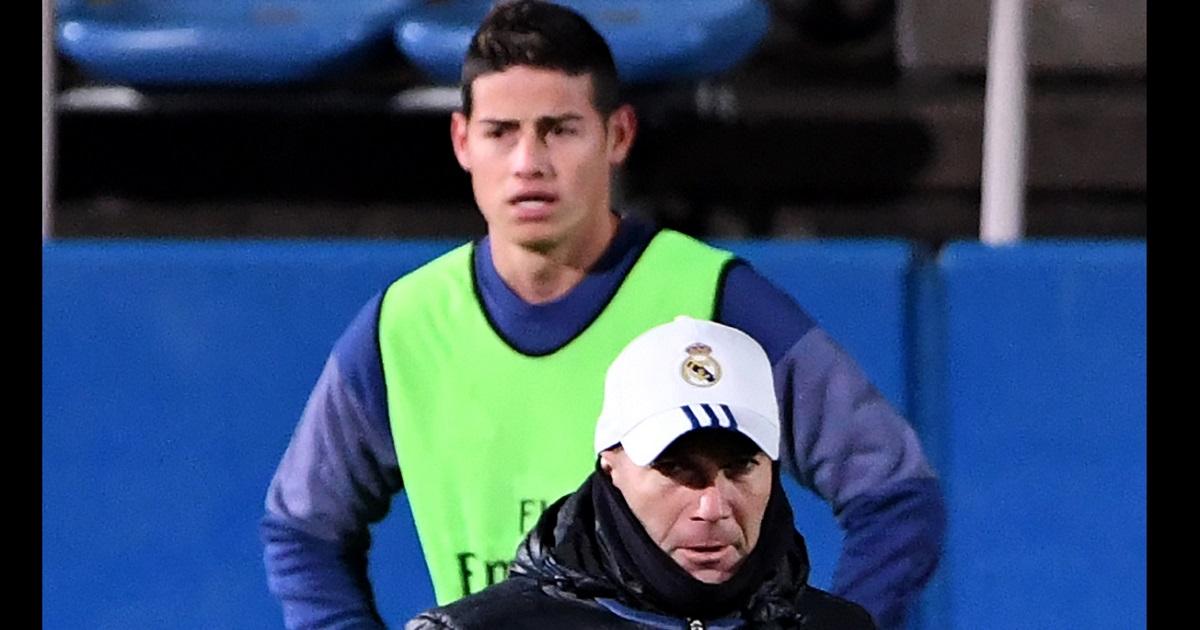 Con contundente declaración, Zidane confirma el futuro de James