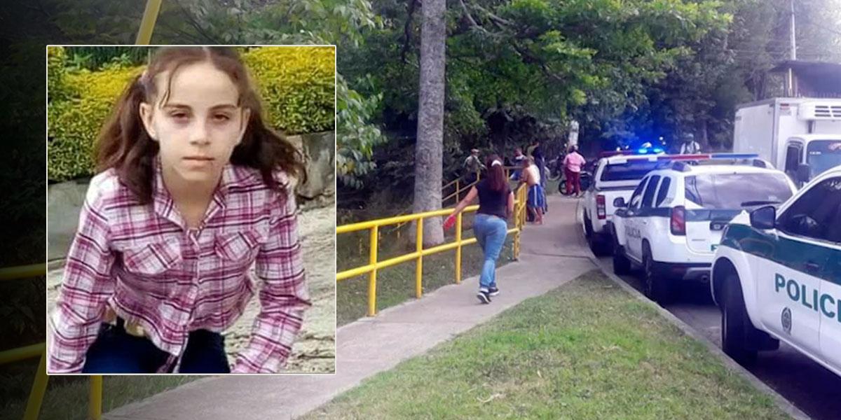 Encuentran cadáver de niña de 12 años que fue reportada como desaparecida en Medellín