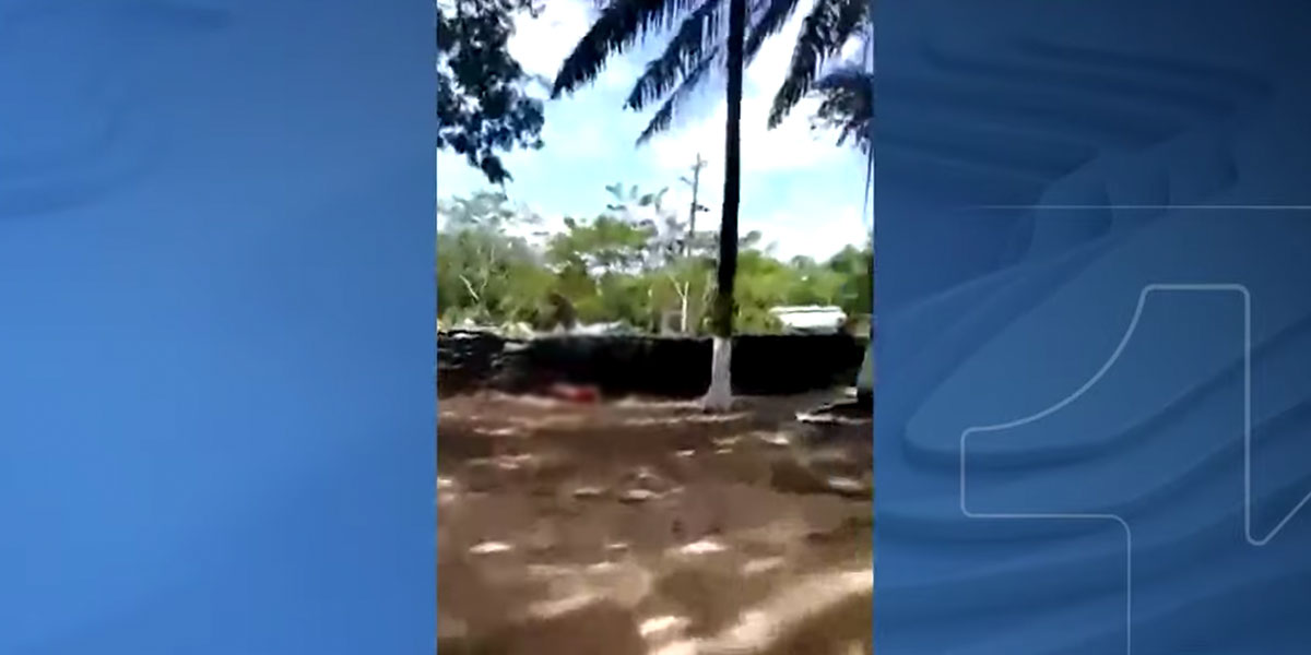 El otro ángulo del video del joven que murió en la base militar La Lizama