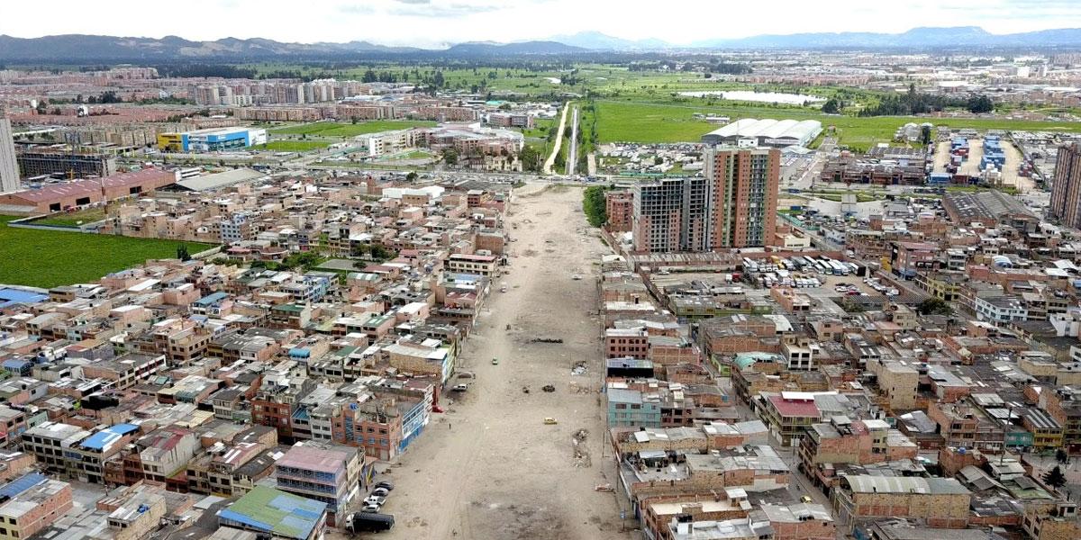 Así se verá la vía más grande del suroccidente de Bogotá que ya inició su construcción