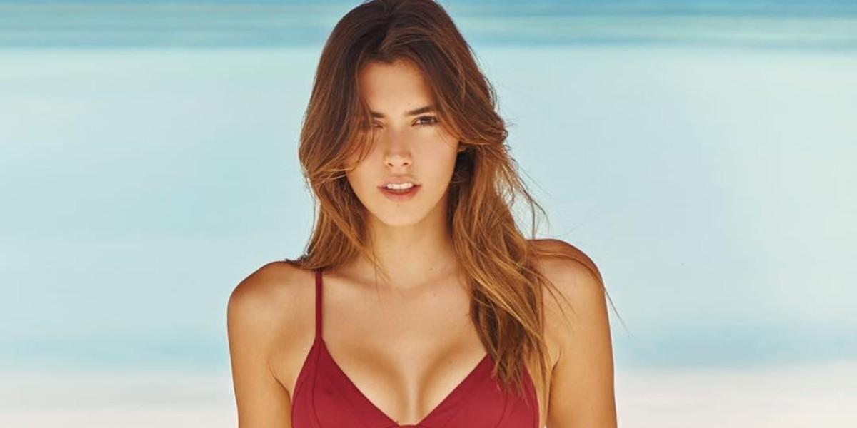 Paulina Vega sufrió doloroso accidente en el mar